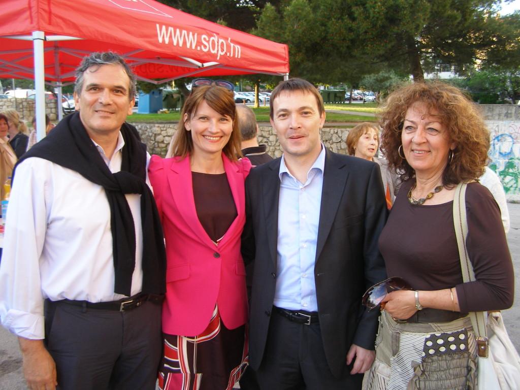 Ivo Bilić, Sabina Glasovac, Arsen Bauk i Ljiljana Klarin