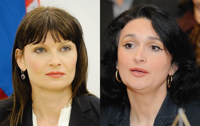 Sabina Glasovac i Renata Sabljar Dračevac