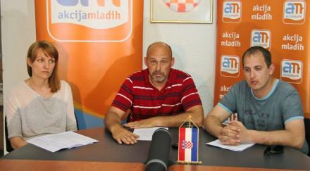 Marjana Botić, Marko Pupić Bajrač i Ante Rubeša (Foto: Zadarski list)