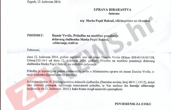 Radi spašavanja životinja, Vrvilo prijavio Pupića Bakrača etičkom povjerenstvu