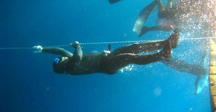 Petanijev zaron na dah u dubinu od 95 metara novi hrvatski rekord