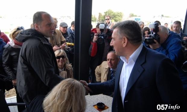 Božidar Kalmeta ignorirao otvaranje Gaženice, ali je stigao general Gotovina!