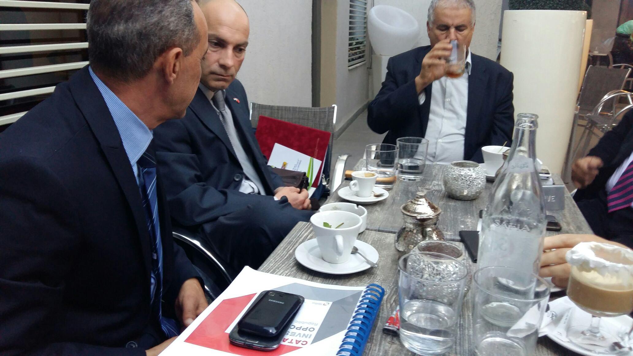 Sastanak sa predsjednikom Odbora za gospodarstvo i razvoj Parlamenta Republike Tunis